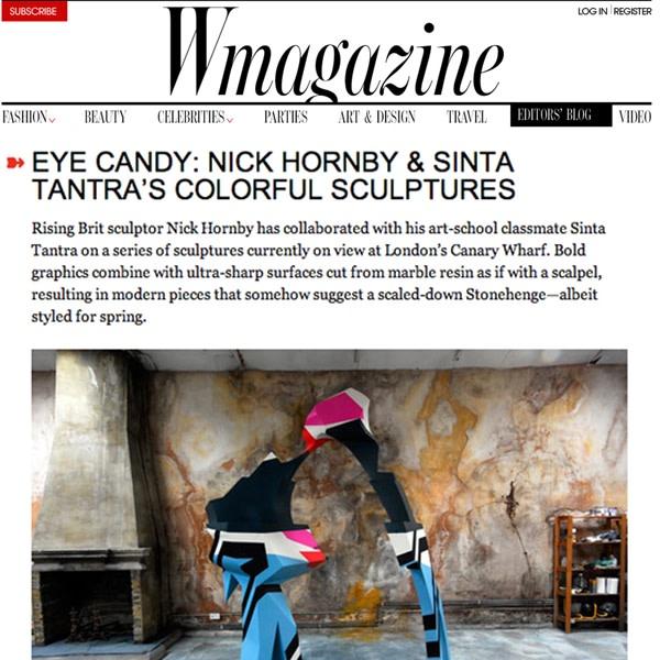 EYE Candy: nick Hornby & Sinta Tantra
