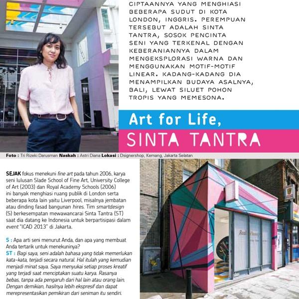 Art for Life: Sinta Tantra