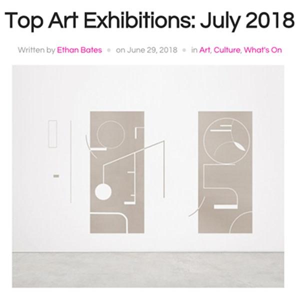 Top Art Exhibitions: July 2018