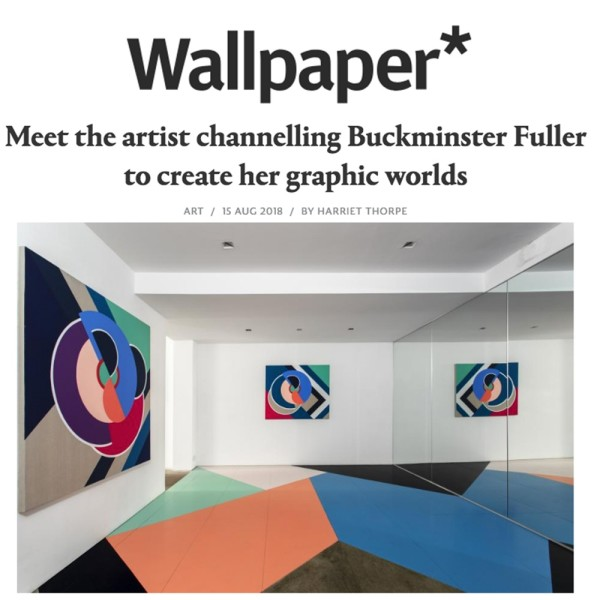 Meet the artist channelling Buckminster Fuller to create her graphic worlds