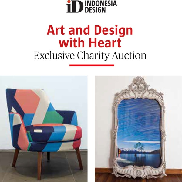 Art and Design with Heart. Exclusive Charity Auction