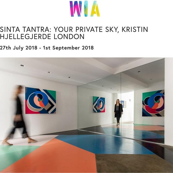 Sinta Tantra: Your Private Sky, Kristin Hjellegjerde, London