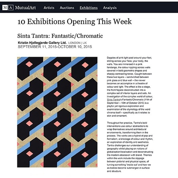 Sinta Tantra: Fantastic/Chromatic