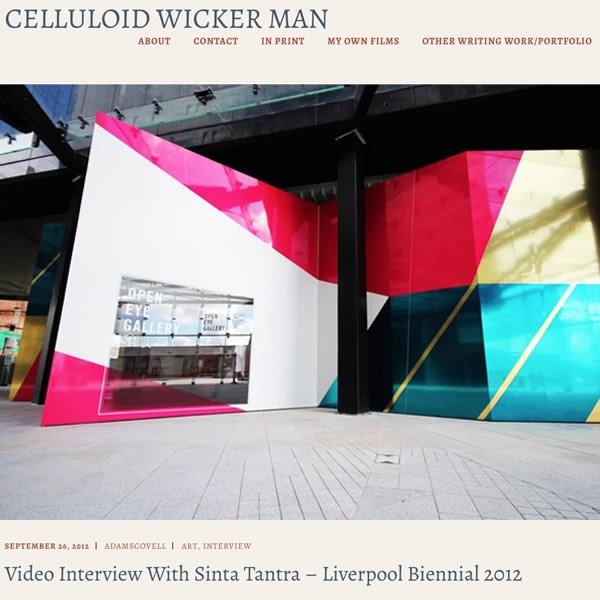 Liverpool Biennial 2012 Interview: Sinta Tantra