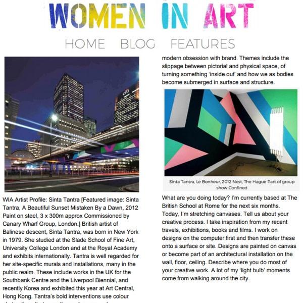 Artist Profile: Sinta Tantra