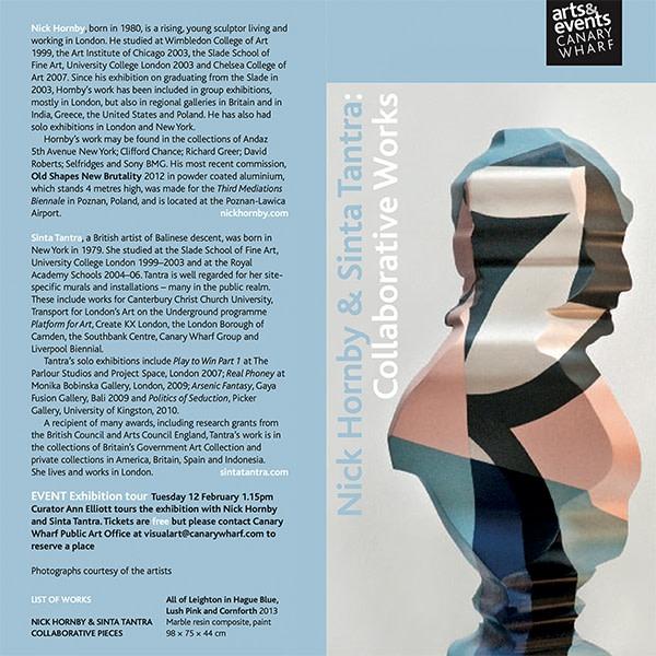 Nick Hornby & Sinta Tantra: Collaborative Works