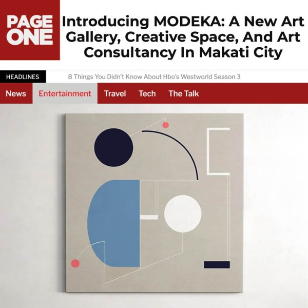 Introducing MODEKA: A New Art Gallery, Creative Space, and Art Consultancy in Makati City.