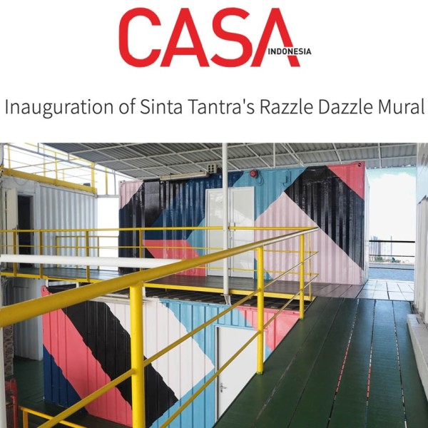 Inauguration of Sinta Tantra's Razzle Dazzle Mural