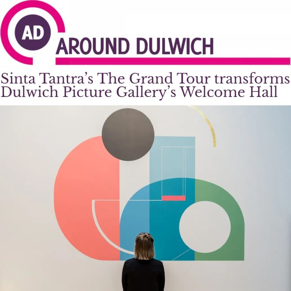 Sinta Tantra's The Grand Tour transforms Dulwich Picture Gallery's Welcome Hall