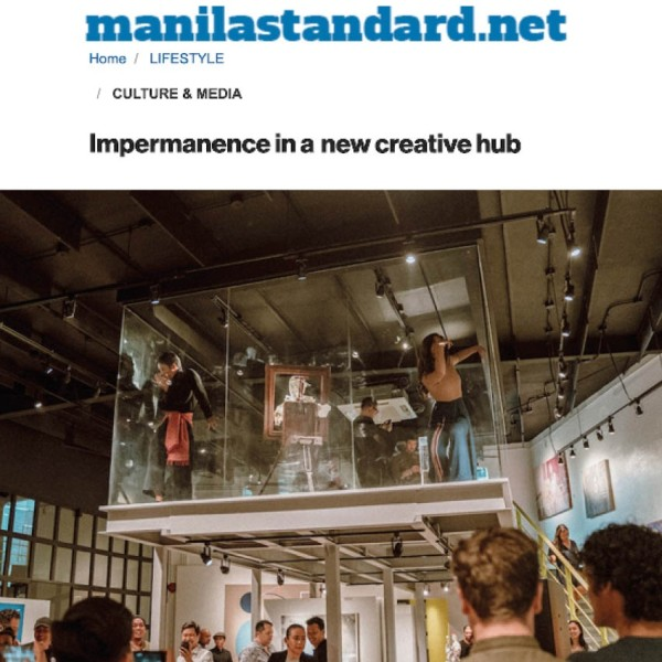 Impermanence in a new creative hub