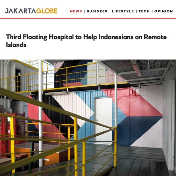 Third Floating Hospital to Help Indonesians on Remote Islands.