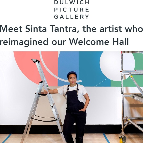 Meet Sinta Tantra, the artist who reimagined our Welcome Hall
