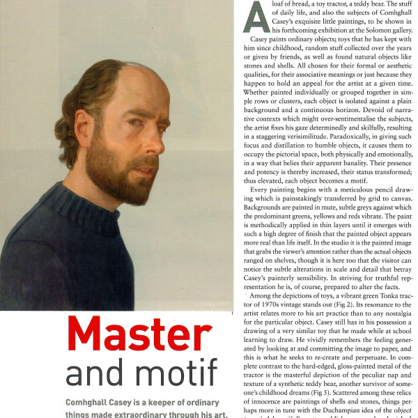 Master and Motif: Irish Arts Review