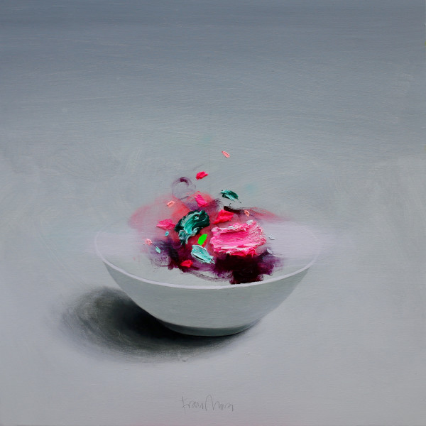 Fran Mora - Bowl (Tondo), 2019