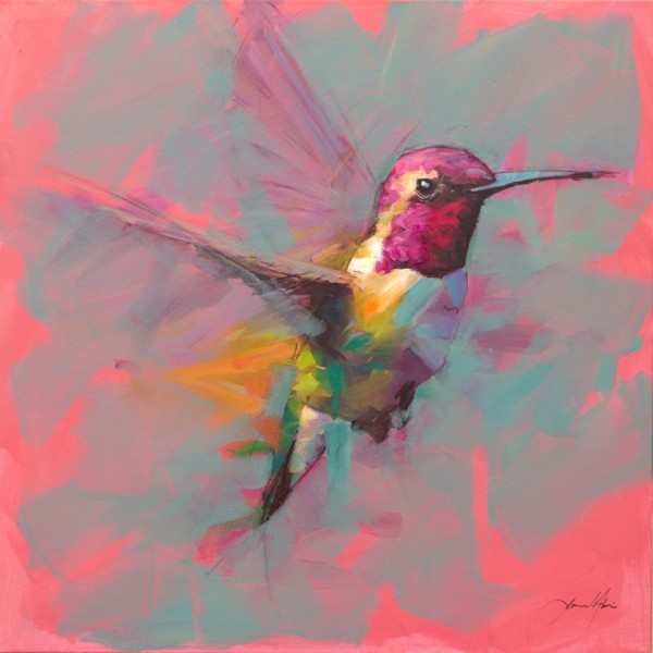 Jamel Akib - Humming Bird 3, 2019