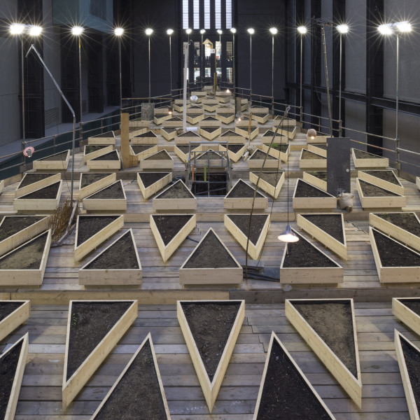 Abraham Cruzvillegas - Recipient of The Hyundai Commission, 2015 in Tate Modern's Turbine Hall