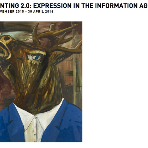 Lynda Benglis, Glenn Ligon, Amy Sillman and Kelley Walker: Painting 2.0: Expression in the Information Age at Museum Brandhorst, Munich