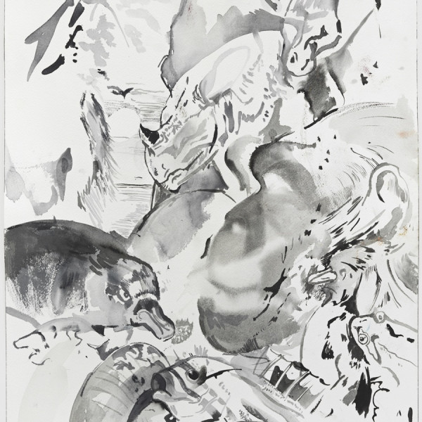 Cecily Brown: Rehearsal at The Drawing Center