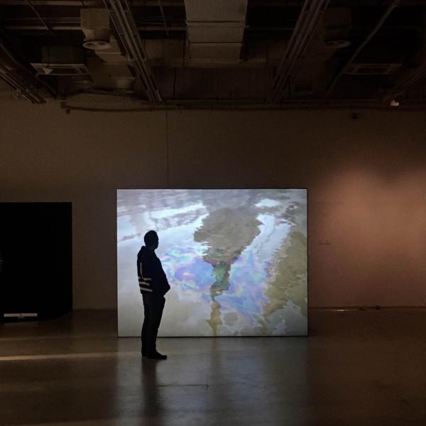 John Gerrard: Flag (Thames), 2016 at 11th Shanghai Biennale