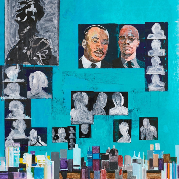 Hurvin Anderson: Turner Prize exhibition at the Ferens Gallery, Hull