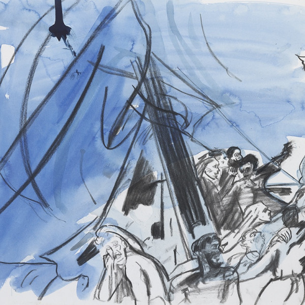 Cecily Brown: Shipwreck drawings at the Whitworth, The University of Manchester