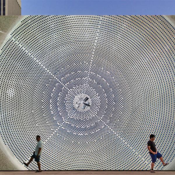 12.07.2018 - John Gerrard: Solar Reserve (Tonopah, Nevada) 2014 at LACMA