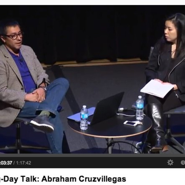 Abraham Cruzvillegas in conversation with Clara Kim