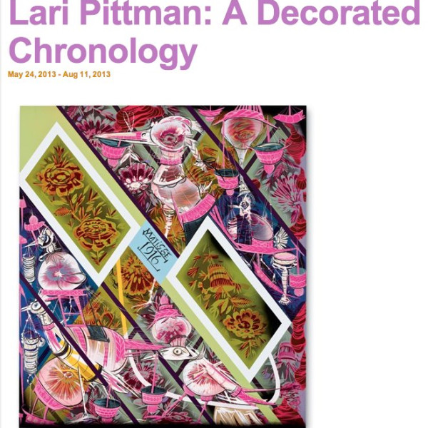 Lari Pittman: A Decorated Chronology, Contemporary Art Museum St Louis