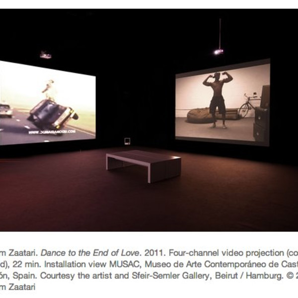 Akram Zaatari: Project 100, Moma, New York