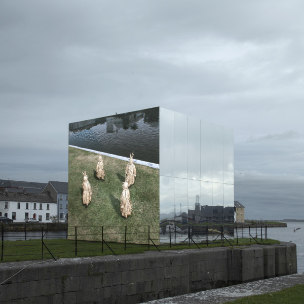 02.09.2020 - John Gerrard: 'Mirror Pavilion: Leaf Work' and 'Mirror Pavilion: Corn Work', Galway International Arts Festival and Galway 2020