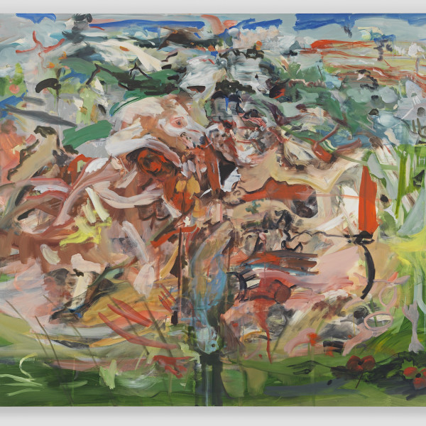 19.10.21 - Cecily Brown's 'There'll be bluebirds' sells for £3.5m at auction