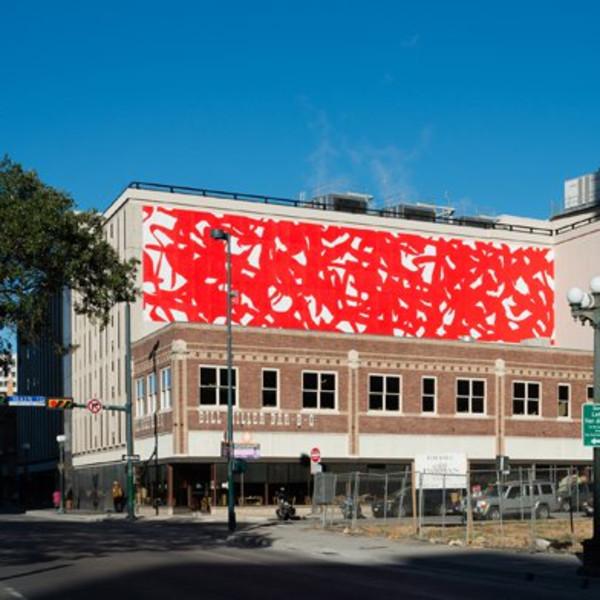 Arturo Herrera: Adam, Public Art Installation, Linda Pace Foundation, San Antonio
