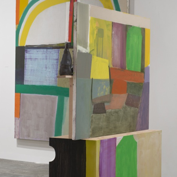 Amy Sillman at the Whitney Biennial 2014, Whitney Museum of American Art, New York
