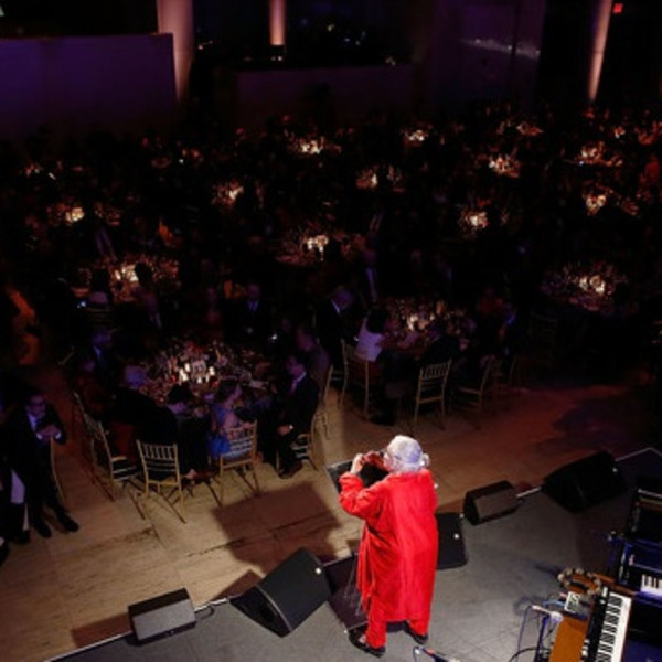 Lynda Benglis Honoured at New Museum Spring Gala