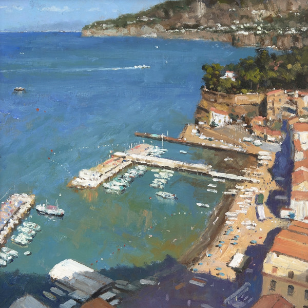 Ian Hargreaves - Sorrento - Looking Towards Naples