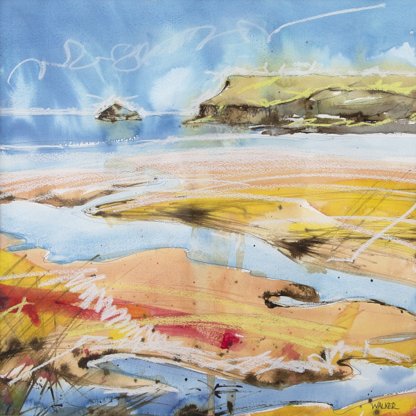 Rob Walker - Receding Tide, Daymer Bay