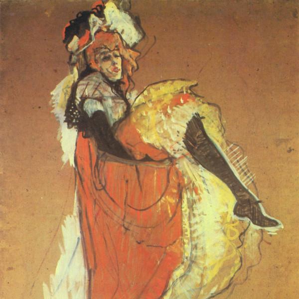 Jane Avril by Henri de Toulouse Lautrec