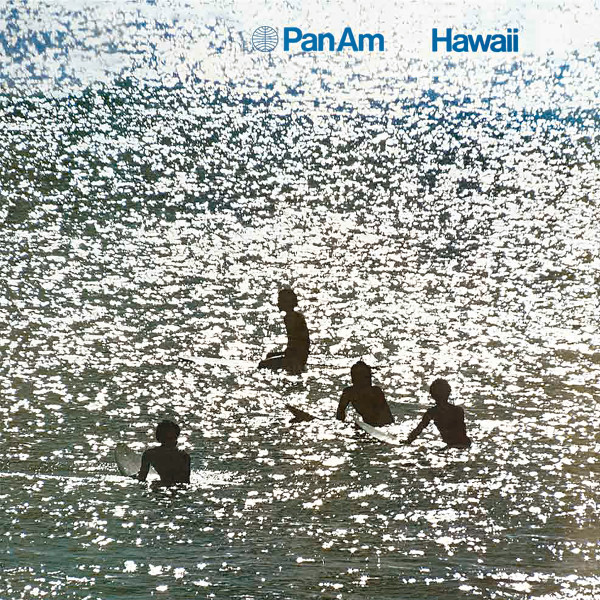 'Pan Am Hawaii / Housed in San Jose, California - 27.04.2015', 2019, Part of the community of 12 occurrences of appearance bound by a search on the internet in between November 27th and November 29th 2019, Design: Chermayeff and Geismar, © 1971 Photography: Magnum Photos, C-type print, 175 x 116.6 cm (artwork), 184 x 124.6 x 7 cm (framed), Marine Hugonnier, 2020