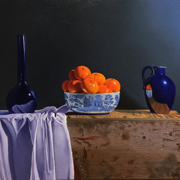 Robert Walker - Chinese Bowl with Clementines