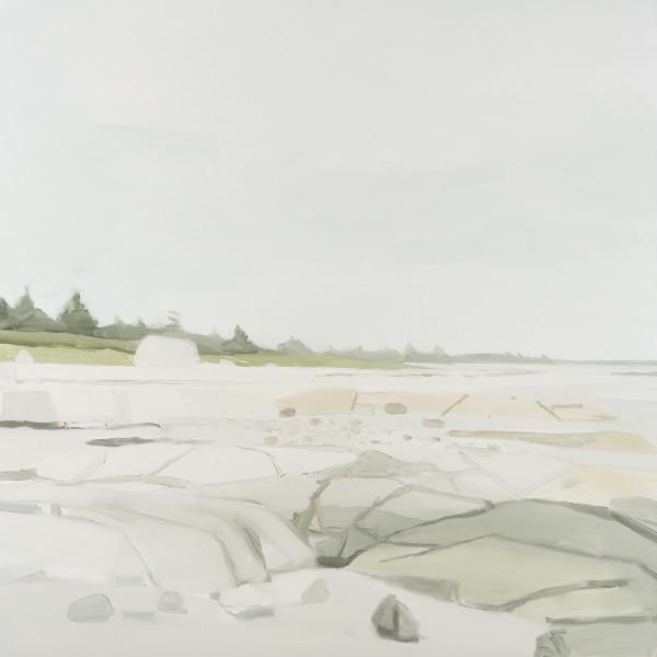 Sara MacCulloch - Beach and Rocks, 2016