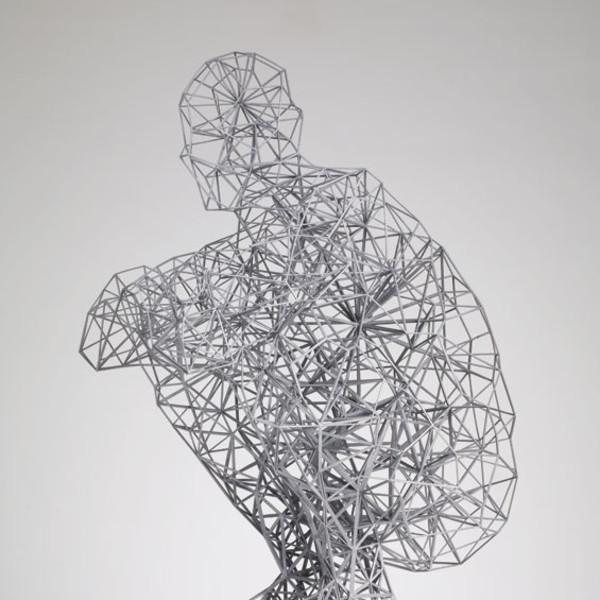 Antony Gormley - Exposure (Maquette), 2010