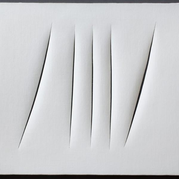 Lucio Fontana - Concetto Spaziale, 1965