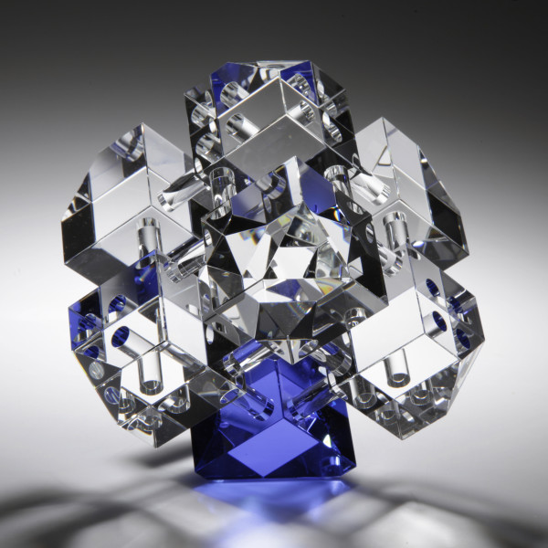Jan-Joop Ruisch - Cube Construction, Blue