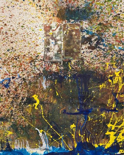 Shozo Shimamoto, Bottle crash '97, 1997