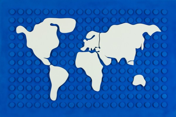 Matteo Negri, Lego Map, 2015