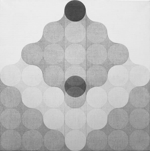 Carlo Nangeroni, Mutazioni elemento scorrevole, 1970