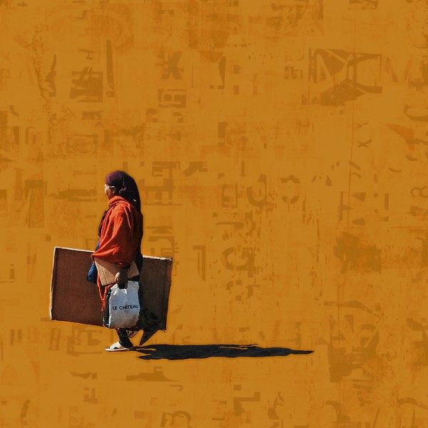 Girma Berta, Moving Shadows V, 2015