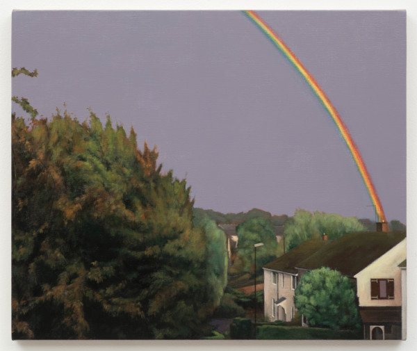 George Shaw, A View from a Teenagers Bedroom, 2017 (Diptych - Right)