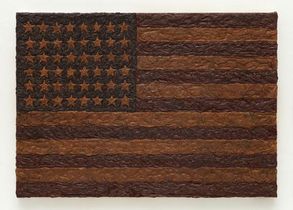 Mark Alexander, American Bog (Study for Flag 1912), 2013