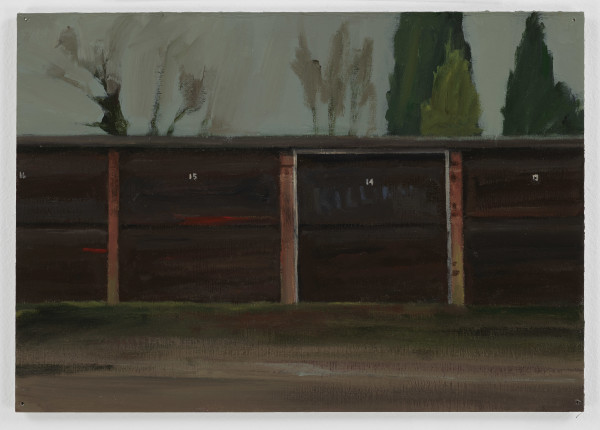 George Shaw, Study for Blank Expressions 4, 2017